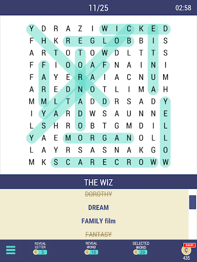 Daily POP Word Search 1.0.5 screenshots 6