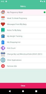 Pregnancy Tracking 1.11 Screenshots 2