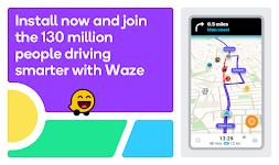 screenshot of Waze - GPS, Maps, Traffic Alerts & Live Navigation