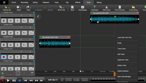 MixPad Multitrack Mixer Free 6.22 Screenshots 6