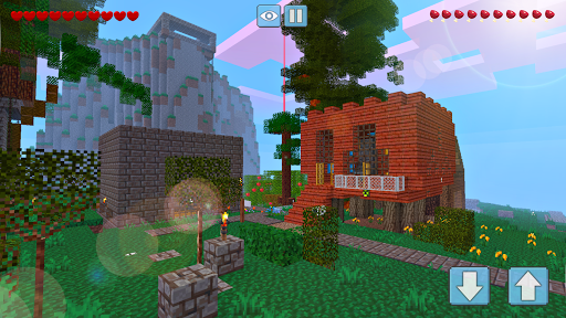 Block Craft World 3D: Mini Crafting and building!  screenshots 2