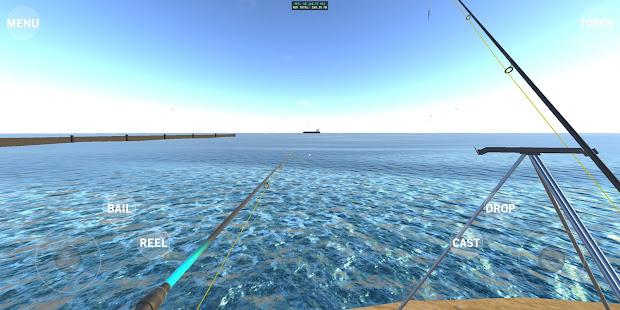 海上釣魚模擬器-鱈魚,鱸魚,Pla等