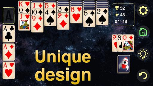 Solitaire Klondike - classic offline card game Apkfinish screenshots 6