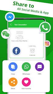 Fancy Text - Cool Fonts & Nickname Generator