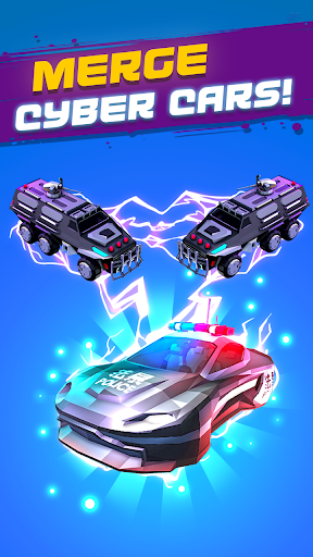 Merge Cyber Cars: Sci-fi Punk Future Merger 2.0.1 screenshots 2
