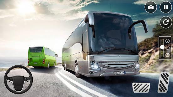 Euro Bus Driving Simulator: City Coach Bus Games 1.4 screenshots 1