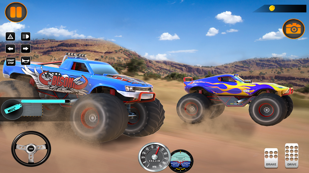 Monster Truck Off Road Racing 2020: Offroad Games  poster 6