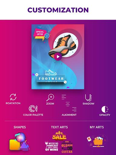 Video Flyers - Flyer Maker, Make Poster, Video Ads 21.0 Screenshots 11