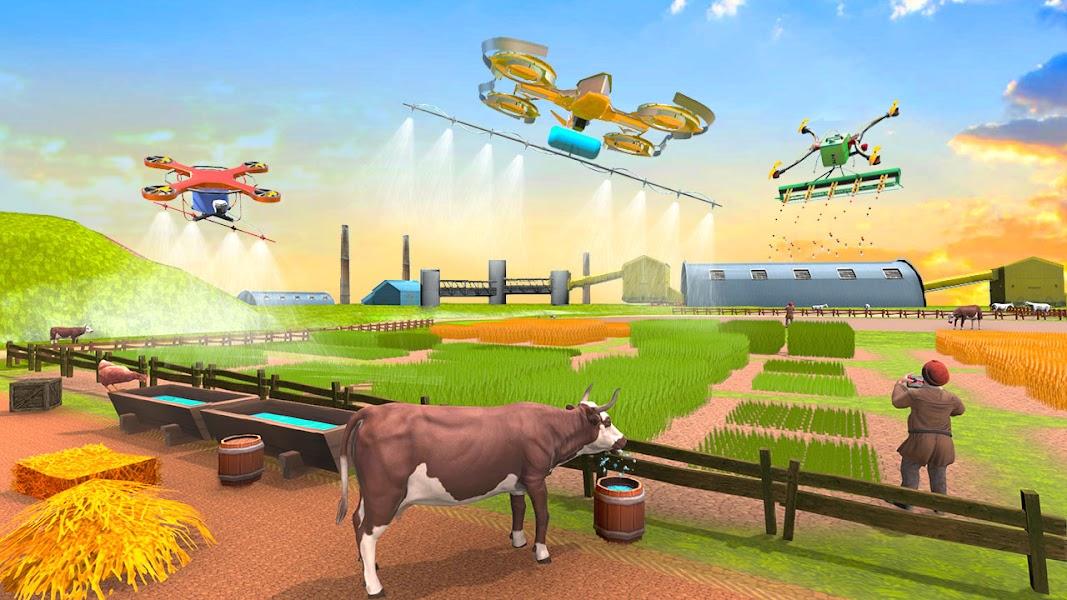 Modern Drone Farming 2020: Tractor Games
