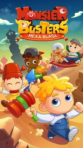 Monster Busters: Hexa Blast  screenshots 16