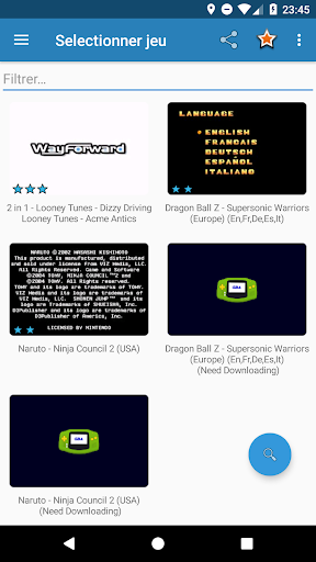 GBA Emulator  Screenshots 1