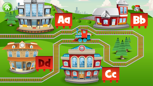 Learn Letter Names and Sounds with ABC Trains android2mod screenshots 3
