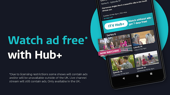 ITV Hub: Your TV Player APK (Ultima Versión) 4