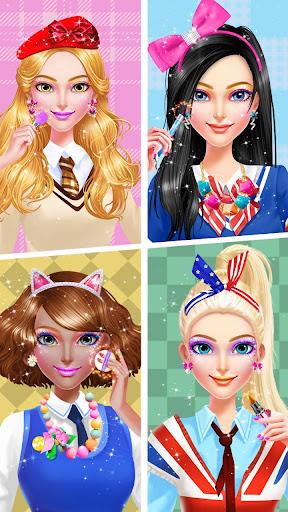 🏫💄School Uniform Makeover  screenshots 2