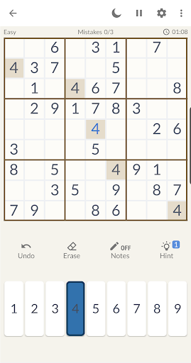 Sudoku Free - Sudoku Offline Puzzle Free Games 1.0.3 screenshots 4