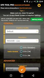 GFX Tool Pro for PU Battlegounds – 60FPS 1