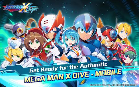 MEGA MAN X DiVE – MOBILE 6