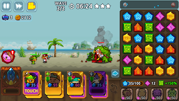 Puzzle & Defense: Match 3 Battle