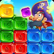 Jewel Cube Blast:Crazy Pirate