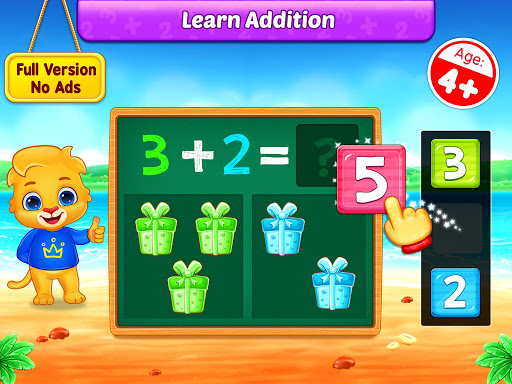 Math Kids - Add, Subtract, Count, and Learn screenshots 8