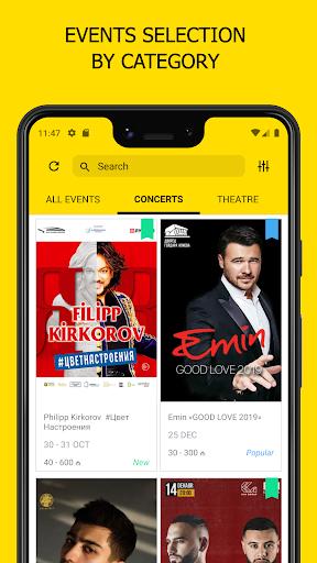 iTicket.AZ - Online ticket sales screenshots 1