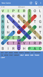 Free Word Search Puzzle - Word Find