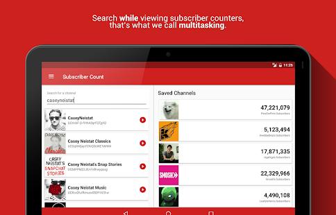 Realtime Subscriber Count 8.3.1-3299-RELEASE APK screenshots 7