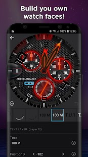 Watch Face -WatchMaker Premium for Android Wear OS Screenshot