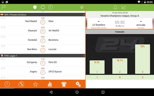 Futbol24 u2013 soccer live scores & results 2.46 Screenshots 8
