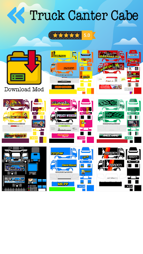 Mod Truck Angsa Putih  Screenshots 3