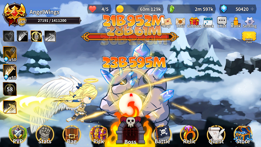 Raising Archangel: AFK Angel Adventure apkdebit screenshots 7
