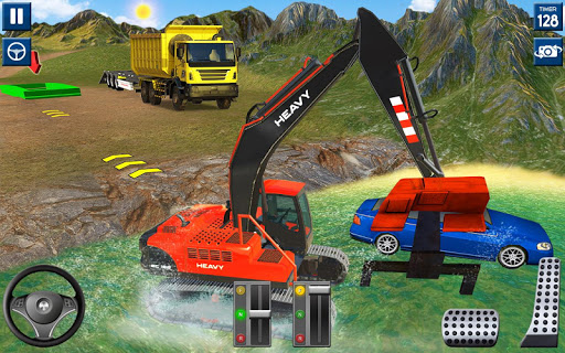 Heavy Excavator Simulator 2020: 3D Excavator Games modavailable screenshots 3