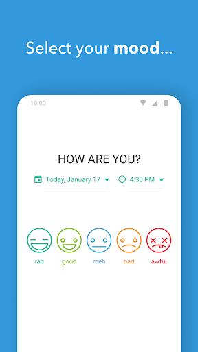 Daylio - Diary, Journal, Mood Tracker  screenshots 2
