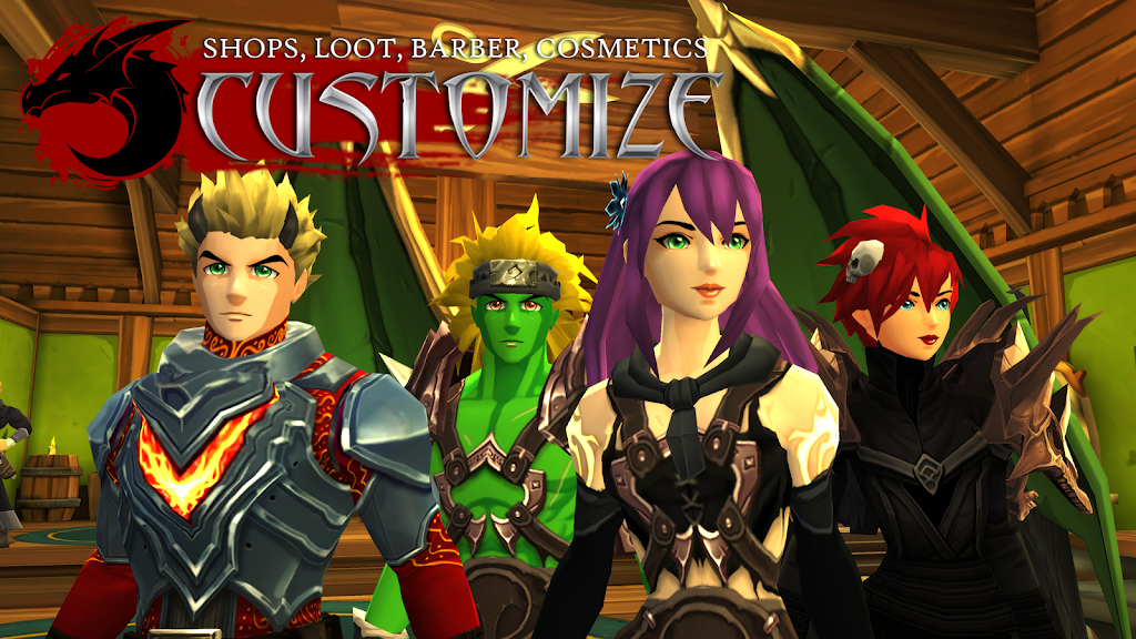 AdventureQuest 3D MMO RPG  poster 1
