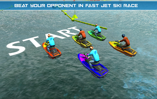 Power Boat Jet Ski Simulator: Water Surfer 3D apktram screenshots 12