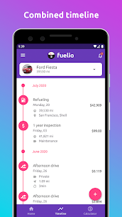 Fuelio: gas log, costs, car management, GPS routes (PRO) 7.7.7 Apk 2