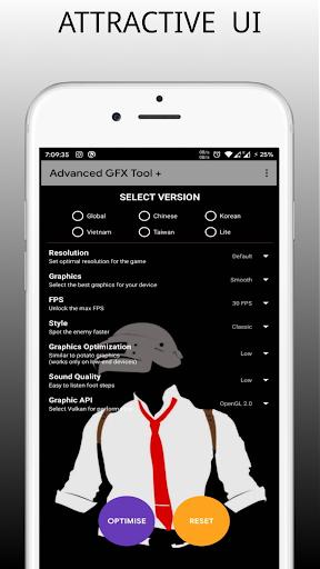 Potato Graphics - GFX tool (Indian Version) modavailable screenshots 4