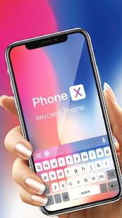 Phone X Emoji Keyboard 1.0.1 Screenshots 1