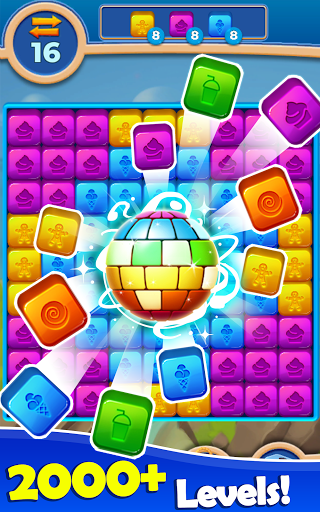Cube Blast: Match Block Puzzle Game apkpoly screenshots 6
