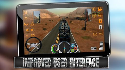 Code Triche Truck Simulator USA (Astuce) APK MOD screenshots 4