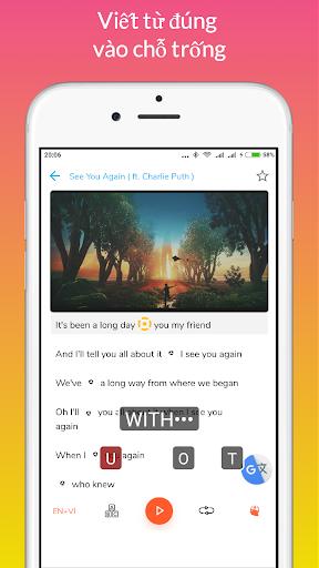 Learn English through Music modavailable screenshots 7