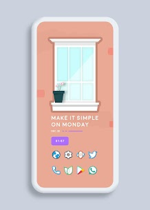 Color Line Icon Pack – color lines on white icons v2.3 [Patched] 2