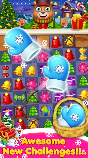 Candy Christmas Match 3 apkpoly screenshots 1