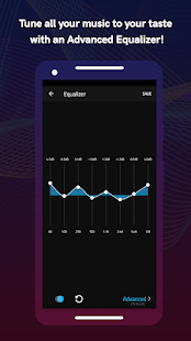 Boom: Music Player, Bass Booster and Equalizer 2.6.1 Screenshots 5
