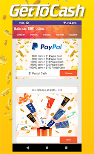 Earn Money & Free Gift Card With GetToCash! 3