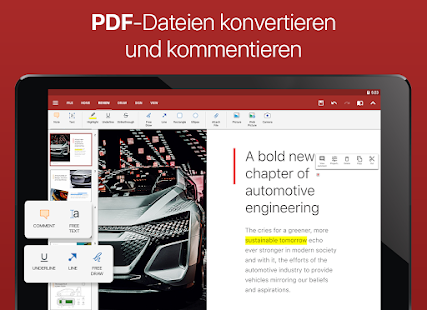 OfficeSuite - Word, Excel, Powerpoint & PDF Editor Screenshot