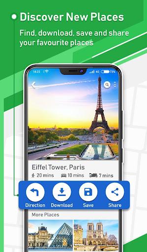 Offline GPS - Maps Navigation & Directions Free 1.15 Screenshots 2