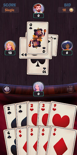 Hearts - Free Card Games 2.5.4 screenshots 4