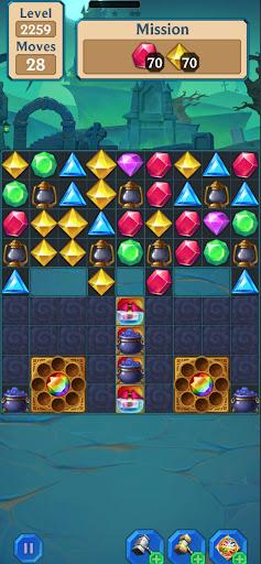 Magic Jewel Quest - Mystery Match 3 Puzzle Game  screenshots 1