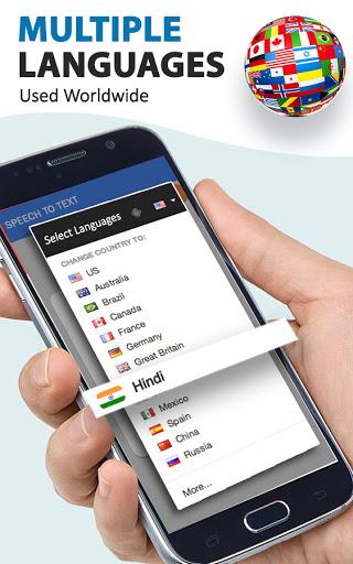 Speech To Text Converter - Voice Typing App android2mod screenshots 2
